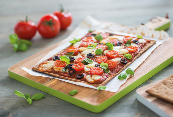 "Low Carb Pizza ""Lizza"""