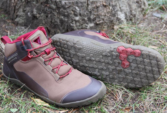 Wanderschuh Hiker Firm Ground von Vivobarefoot
