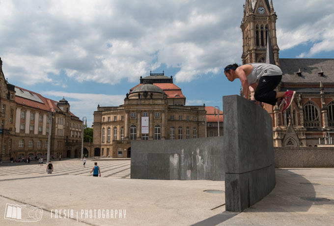 Parkour in Chemnitz - IF Urban Sports